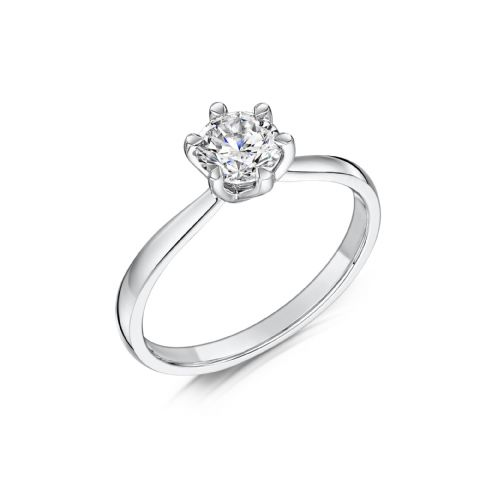 0.33 Carat GIA GVS Diamond solitaire Platinum. Round brilliant. Engagement Ring, MPSS-1204/033